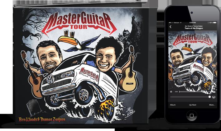 30c075aa4496e0 Master Guitar Tour - the album